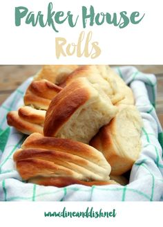 Homemade bread is the best... especially in the form of these tender and delicious Parker House Rolls!