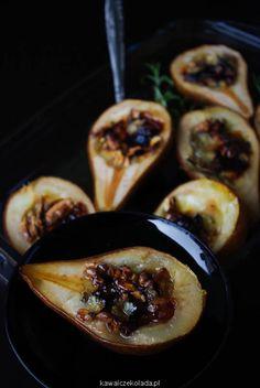 gruszki-zapiekane-z-gorgonzola-i-orzechami-47 – Kawa i Czekolada French Toast, Tacos, Mexican, Vegetarian, Dishes, Breakfast, Ethnic Recipes, Food, Morning Coffee
