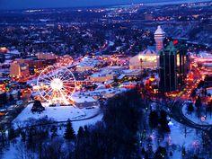 Ferris Wheel Queen Victoria Park, Niagara Falls, Canada ~