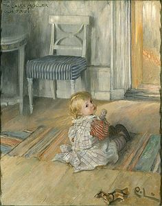 Carl Larsson (Swedish Realist Painter, A Studio Idyll. The artist's wife with daughter Suzanne Swedish artist Carl Larsson (. Carl Larsson, Carl Spitzweg, Illustrations, Illustration Art, Scandinavian Art, Poster Prints, Art Prints, Oil Painting Reproductions, Museum Of Fine Arts