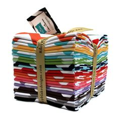 Chevron Fabric Fat Quarter Bundle by Riley Blake Designs. $35.00, via Etsy.