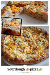 Pihe puha pizzatészta természetes(en) kovásszal   Betty hobbi konyhája Sourdough Pizza, Hawaiian Pizza, Mashed Potatoes, Cheese, Ethnic Recipes, Food, Whipped Potatoes, Smash Potatoes, Essen