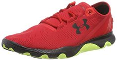 Under Armour UA SpeedForm Apollo Vent, Herren Laufschuhe, Rot (RED 601), 41 EU - http://on-line-kaufen.de/under-armour/41-eu-under-armour-ua-speedform-apollo-vent-herren-4