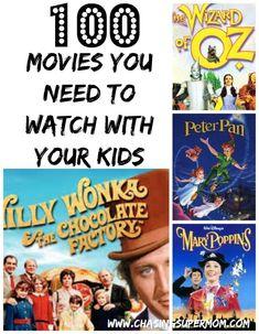 Must Watch Movies List, Disney Movies To Watch, Family Movie Night, Family Movies, Best Movies List, About Time Movie, Movie Nights, Child Plan, Kids