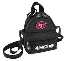 San Francisco 49ers Athalon Mini Me Backpack $39.99 http://www.fansedge.com/San-Francisco-49ers-Athalon-Mini-Me-Backpack-_-357336849_PD.html?social=pinterest_pfid23-61453