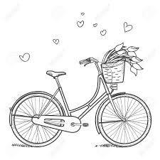 bicicletas vintage dibujada - Buscar con Google