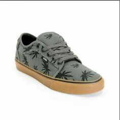 2df034b78a Vans Chukka Low Palms Charcoal  amp  Gum Skate Skate Shoes