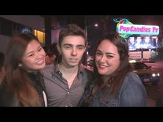 The Wanted Nathan Sykes gets intimate with fans at Mondrian Hotel in West Hollywood - YouTube
