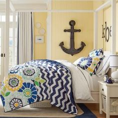Find cute and cool girls bedroom ideas at Pottery Barn Teen. Shop your dream room with our teen room inspiration and ideas. Girls Bedroom Furniture, Teen Furniture, Teen Bedroom, Bedroom Decor, Bedroom Ideas, Bedroom Colors, Dream Bedroom, Master Bedroom, Nautical Bedroom