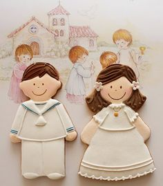 First Holy Communion cookies | Galletas Primera Comunión
