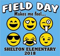 FD0518 - Field Day Emoji Design Fields, Sports Day, Field Day, Shirt Ideas, Emoji, Make It Simple, School Ideas, Kid Stuff, Cool Designs