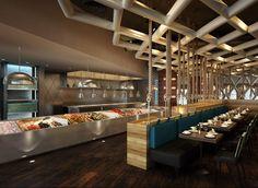 RNL | HOSPITALITY:INTERIOR DESIGN Sheraton Al Muntazah beach resort hotel seafood restaurant