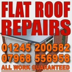 Highly recommended roofing service for flat roof repairs and new flat roof installations guaranteed 20 years. FREE ESTIMATES - Chelmsford 01245 200582