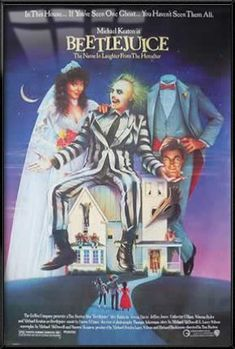 Beetlejuice - Framed Movie Poster / Print (Size: 27 x 40) @ niftywarehouse.com