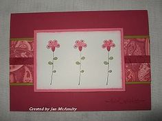 Sassy Stems  Raspberry Tart DSP (single flower trio, Rose Red, Kiwi Kiss, Regal Rose), Sassy Stems & Raspberry Tart DSP (single flower trio, Rose Red, Kiwi Kiss, Regal Rose)
