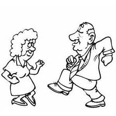 Image result for elderly cartoon coloring pages for adults art