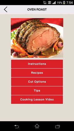 Thick-Crusted Garlic Beef Prime Rib Recipe by Canadian Beef Beef Prime Rib Recipe, Rib Recipes, Oven Roast, Delish, Steak, Garlic, Pork, Meals, Cooking