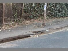 Dug up pavements plague the public and the JRA