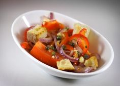 Salad with Tomatoes and Peppers