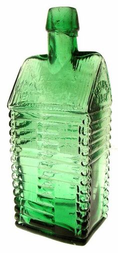 This 1863 Kelly's Old Cabin bitters bottle sold for 45,360 at an auction held by American Bottle... pinned with Pinvolve
