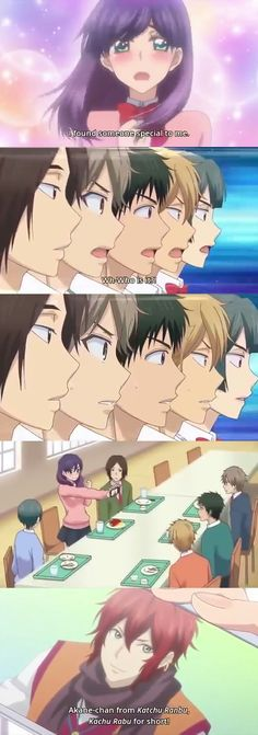 Kiss him not me The anime where the main character is an otaku