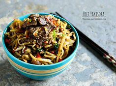Beef Yakisoba is a Japanese fried noodle dish that is usually served with an oyster sauce. Learn how to make this delicious dish with this easy beef yakisoba recipe. Yakisoba Noodles Recipe, Asian Recipes, Beef Recipes, Cooking Recipes, Healthy Recipes, Ethnic Recipes, Yummy Recipes, Vegetarian, Sweets