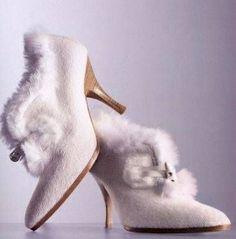 Scarpe inverno sposa - winter bridal shoes