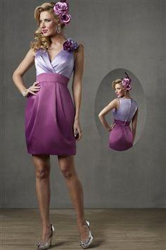 Bridesmaid Dress!!! Pink Bodice and Black skirt.