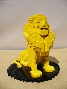 30 of the greatest lego creations that I've ever come across. Lego Design, Lego Structures, Lego Sculptures, Lego Animals, Lego Club, All Lego, Lego Worlds, Lego Models, Lego Projects
