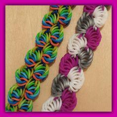 "New "" Sorbet Delight "" Hook Only Rainbow Loom Bracelet/ How To Tutorial"