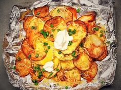 She Adds Cheese And Chips To These Baked Potatoes To Create This Masterpiece - NewsLinQ