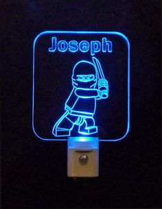 #LEGO #Ninjago  #LED Night Light, Personalized #lamp #uniqueledproducts #cleveland Unique LED Products