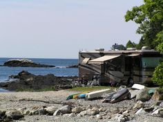 7. Gray's Homestead Oceanfront Campground, Boothbay Harbor