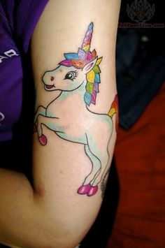 70 Intriguing Unicorn Tattoos photo We've Got You Covered's photos
