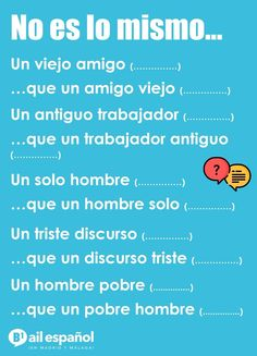 No es lo mismo... Simple Spanish Words, Spanish Phrases, Spanish Culture, Spanish English, Spanish Language, Foreign Language, Learn To Speak Spanish, Learn Spanish Online, Spanish Lesson Plans