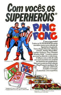 Super Heróis Ping Pong (1979)