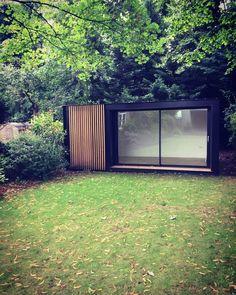 Our latest glide Pod installed in London Backyard Office, Outdoor Office, Backyard Studio, Garden Office, Outdoor Rooms, Garden Huts, Garden Cabins, Summer House Garden, Home And Garden