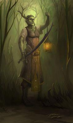 Druid by RavenseyeTravisLacey.deviantart.com