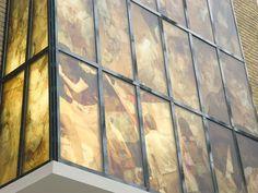 Glass Print | Glasdecoratie. Het Sieraad, Amsterdam. Kunstenaar: Niek Kemps. Made by: Van Iwaarden Artwork