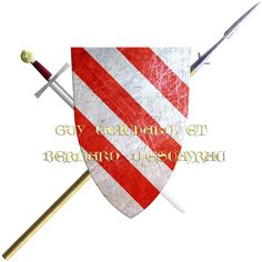 Guy, Guichard and Bernard d'Escayrac. They took the Cross in 1248 to join the sixth crusade, their presence attested to by sealed title.