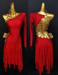 Latin Ballroom Dresses, Latin Dance Dresses, Latino Americano, Bougie Outfits, Dance Outfits, Dance Costumes, Tango, Dance Wear, Designer Dresses