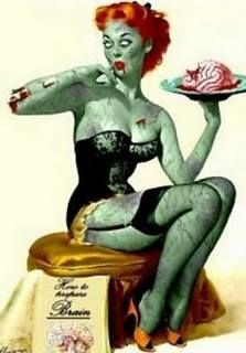 Pinup - Zombie style! - Shared from A Dash of Prepper