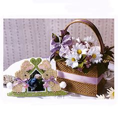 Perky Easter Pair Plastic Canvas ePattern