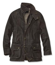 Born of necessity and developed with ingenuity, the battle-tested clothing of WWII has endured and been venerated for decades. None more so than the legendary A-2 goatskin bomber. We looked to that same soft, supple leather—that only improves with age—for a vintage-style leather jacket that crosses effortlessly from field to town.