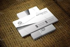 Senri Business Card Template @creativework247