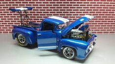 56 Ford Custom Drag Truck