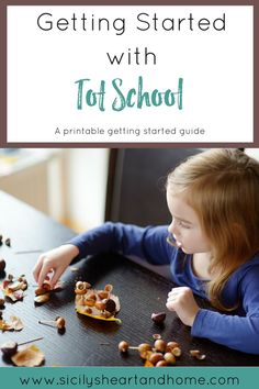 Getting Started with Tot School Guide | Knowing where to start with Tot School can be a challenge. Use this Getting Started Guide to help you start Tot School...STRESS FREE! Click through to get your copy now.