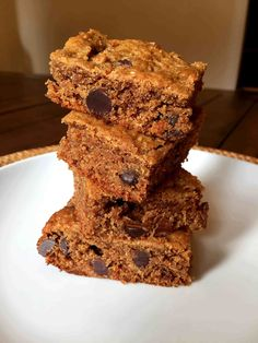 Blondies are the perfect treat for when you want something chocolate, but not something over the top, like a brownie. You get the best of both worlds-