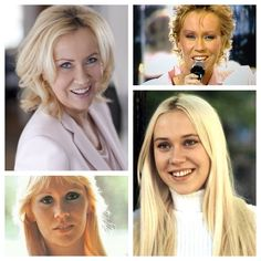 Agnetha over the years....