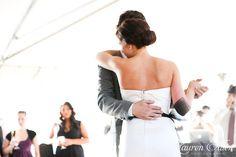 First Dance. New York Farm wedding reception.